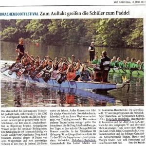 2013-07-13 Artikel Drachenbootrennen (WZ)